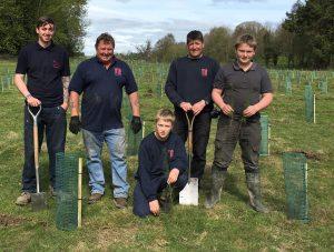 TG tree planting pic